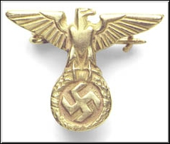 Hitler's NSDAP Eagle Pin